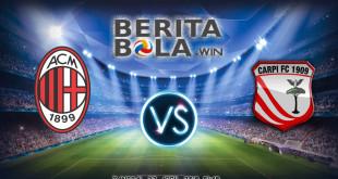 AC Milan vs Carpi berita win