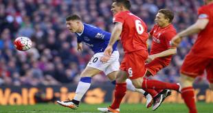 Liverpool Melawan Everton berita win