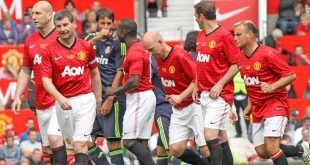 Friendly Match Manchester United Legend vs Bayern Munchen Legend 2015