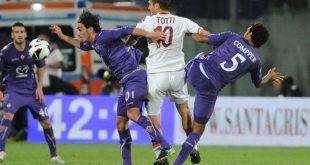 Prediksi Skor Serie A Italia AS Roma Vs Fiorentina 8 Februari 2017