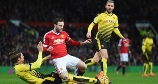 Prediksi Skor Liga Premier Inggris Manchester United vs Watford 11 Februari 2017