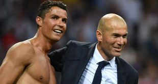 Cristiano Ronaldo & Zinedine Zidane