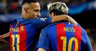 Neymar dan Messi
