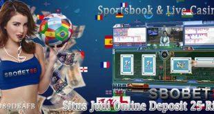 Situs Judi Online Deposit 25 Ribu