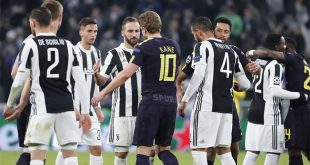 Pertandingan Seri antara Juventus dan Totthenham Hotspur